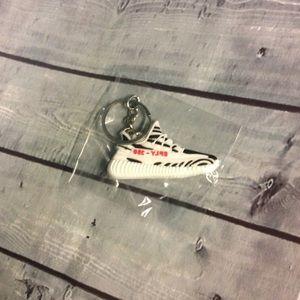 Other - Adidas Yeezy Zebra Keychain 350